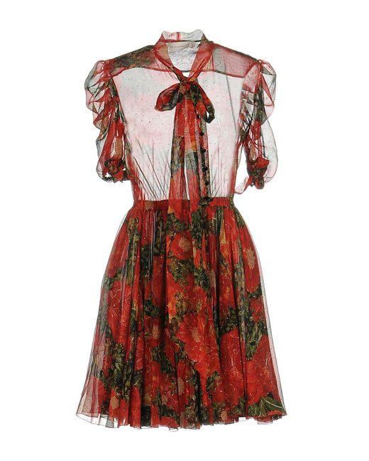 Faith Connexion | Red Short Dress | Lyst