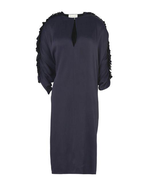 Maison Rabih Kayrouz   Purple Knee-length Dress   Lyst