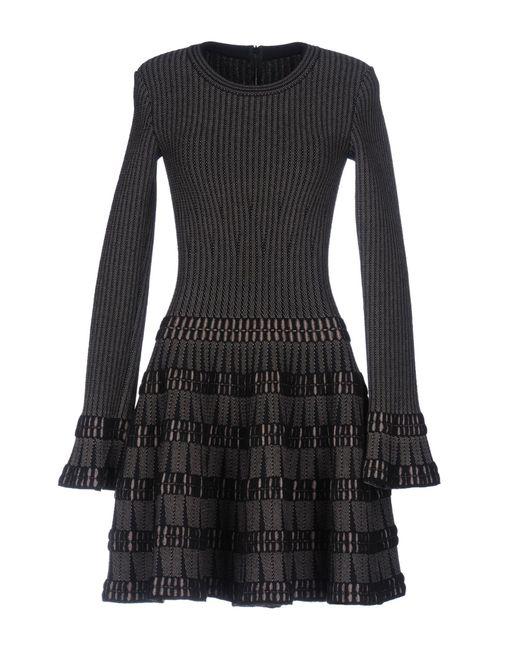 Alaïa   Black Short Dress   Lyst