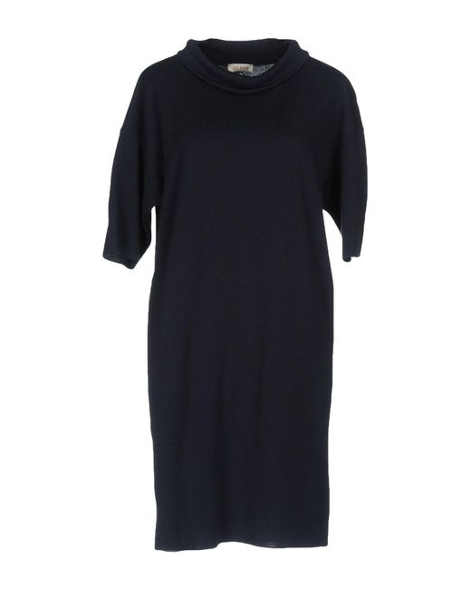 AT.P.CO   Blue Short Dress   Lyst