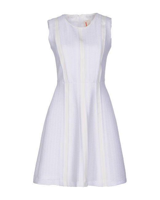 O'2nd - White Short Dress - Lyst