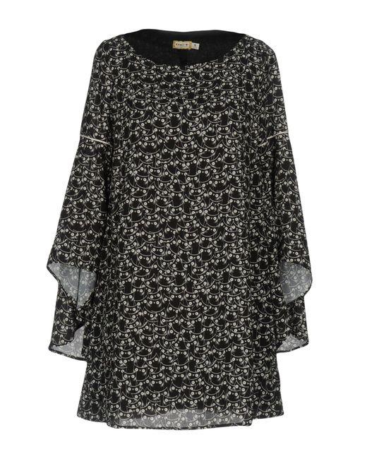 Met - Black Short Dresses - Lyst
