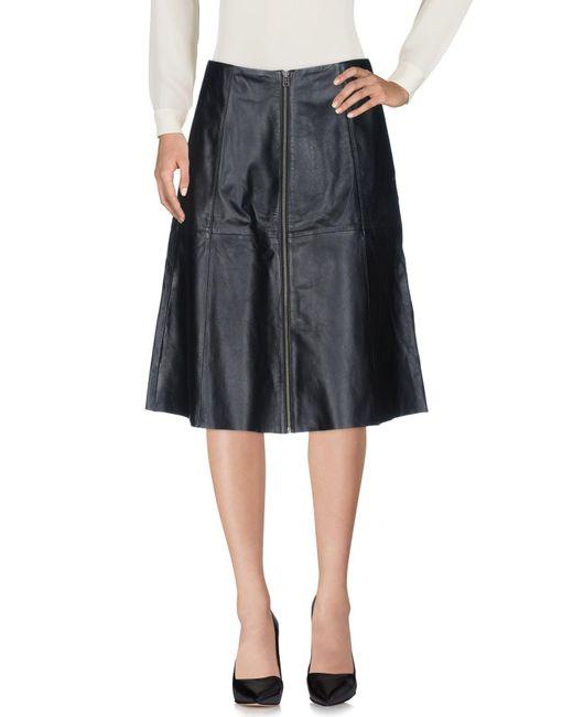 Muubaa | Black 3/4 Length Skirt | Lyst