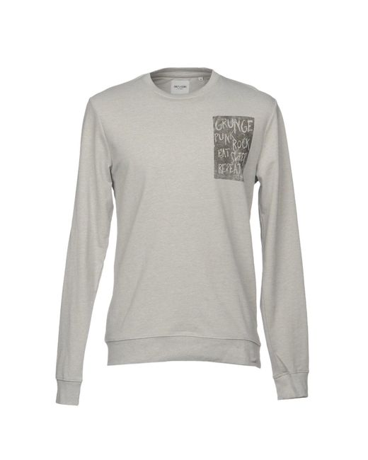 Only & Sons - Gray T-shirt for Men - Lyst