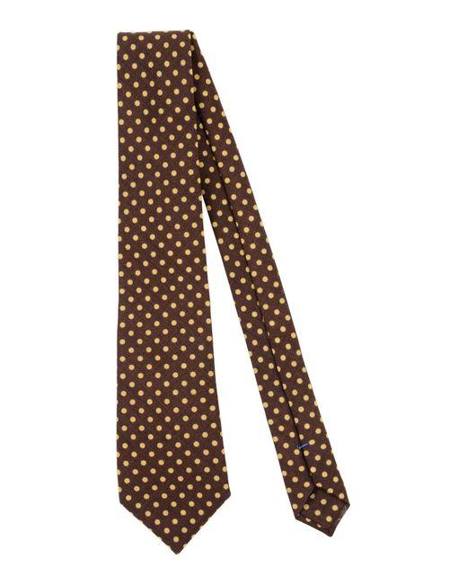 Mp Massimo Piombo   Brown Tie for Men   Lyst