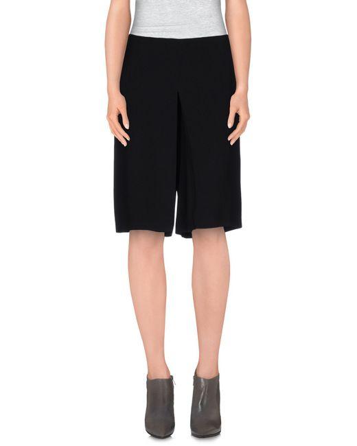 Philosophy di Alberta Ferretti - Black Knee Length Skirt - Lyst