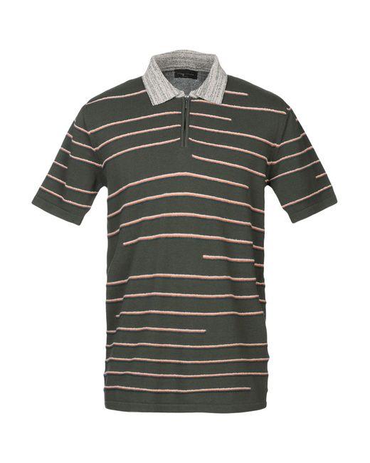 Roberto Collina Green Sweater for men