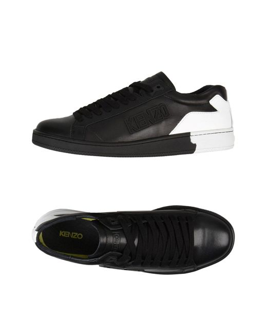 KENZO - Black Low-tops & Sneakers for Men - Lyst
