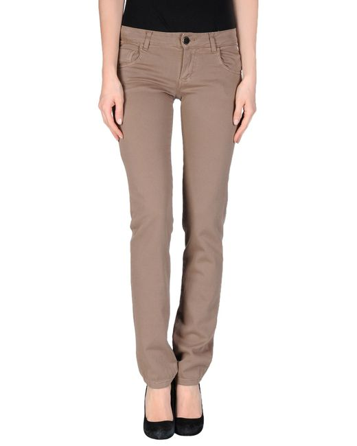 GAUDI | Natural Casual Pants | Lyst