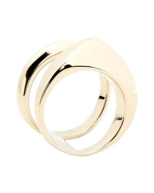 XENIA BOUS | Metallic Ring | Lyst
