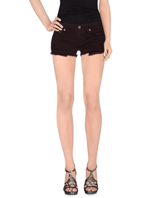 Dondup | Purple Denim Shorts | Lyst