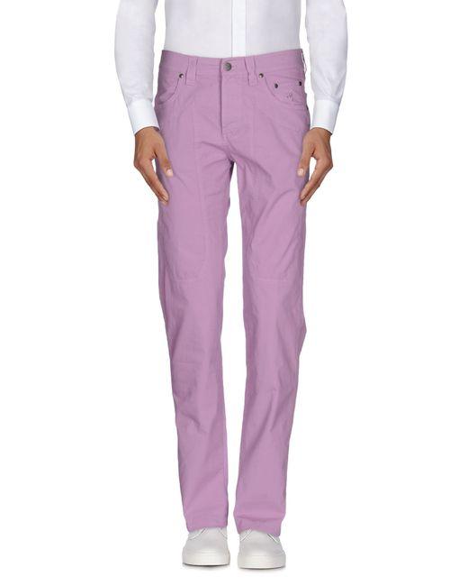 Jeckerson | Purple Casual Pants for Men | Lyst