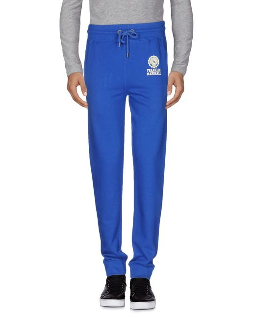 Franklin & Marshall | Blue Casual Trouser for Men | Lyst
