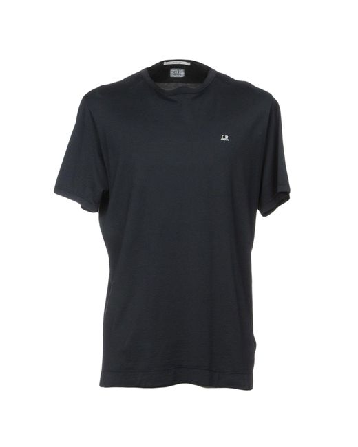 C P Company - Blue T-shirt for Men - Lyst