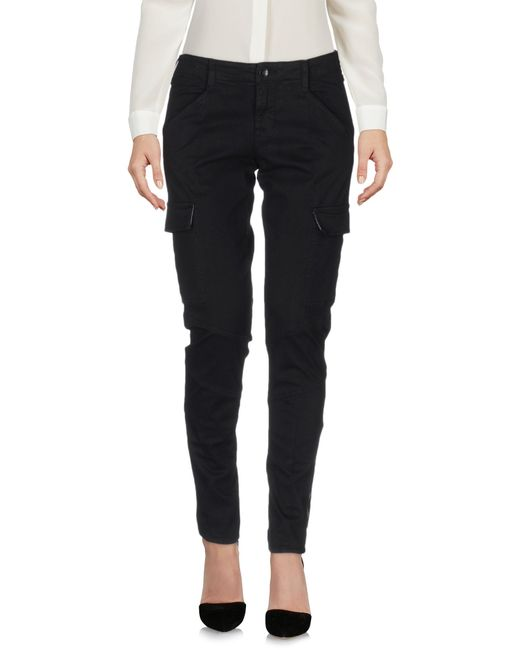 J Brand | Black Casual Trouser | Lyst