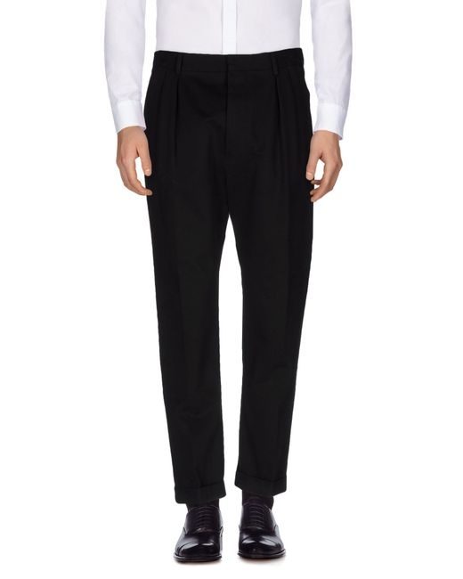 Mauro Grifoni   Black Casual Pants for Men   Lyst