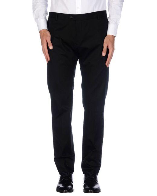 Tonello | Black Casual Trouser for Men | Lyst