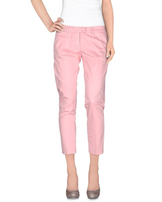 Dondup | Pink Casual Pants | Lyst