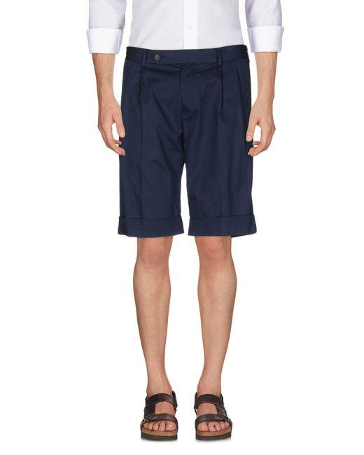 Mauro Grifoni | Blue Bermuda Shorts for Men | Lyst
