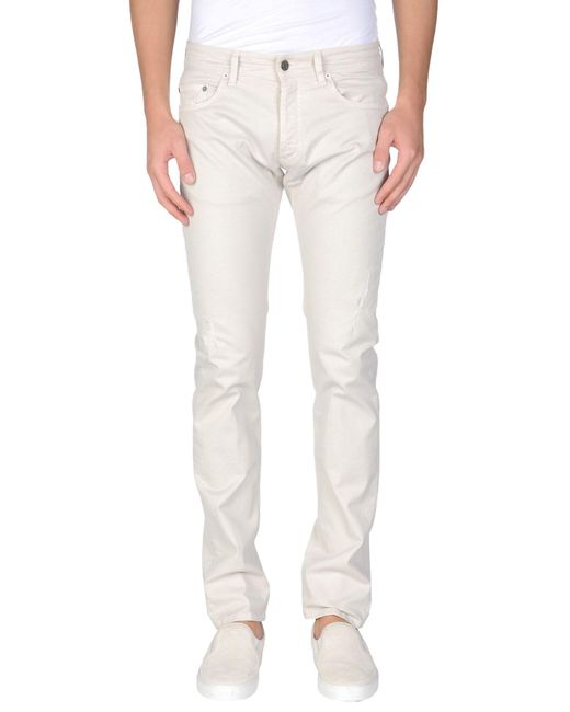 M. Grifoni Denim | Gray Casual Trouser for Men | Lyst