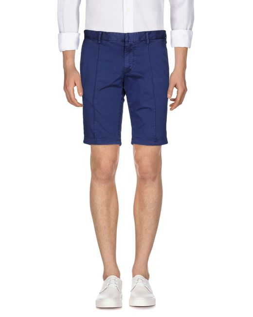 AT.P.CO | Blue Bermuda for Men | Lyst