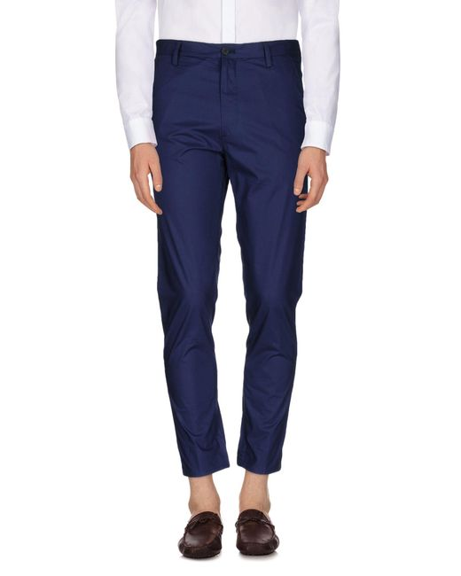 KENZO | Blue Casual Pants for Men | Lyst