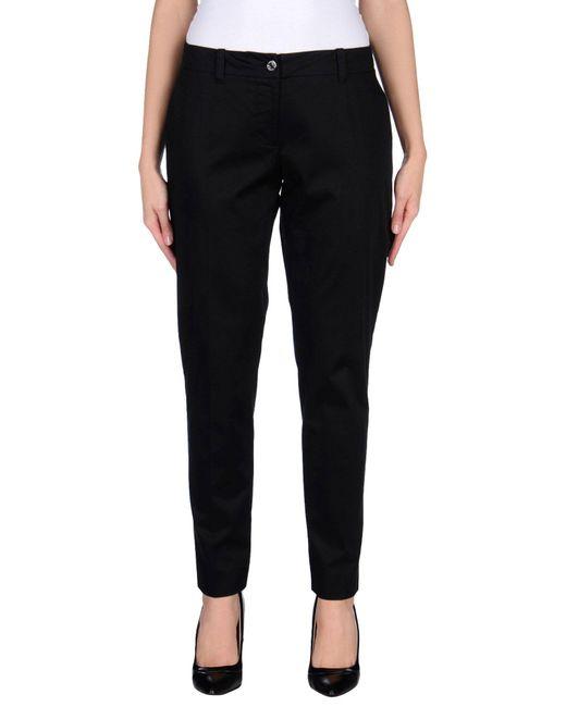 Armani Jeans | Black Casual Trouser | Lyst