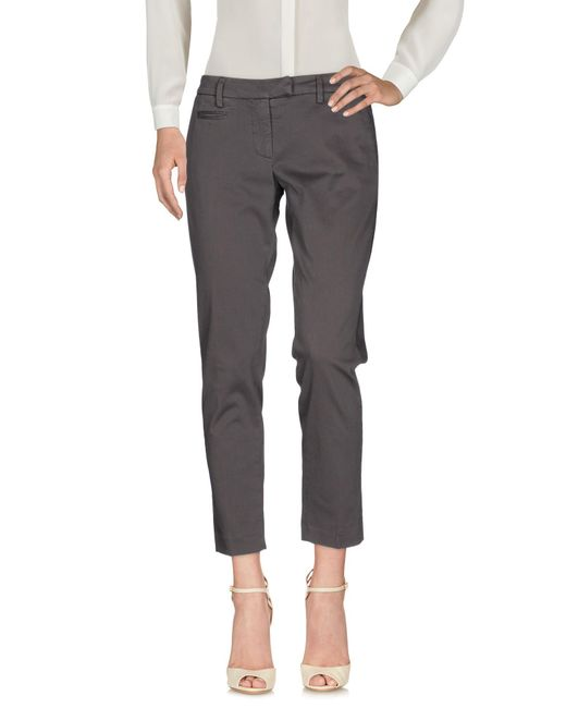 Dondup | Gray Casual Trouser | Lyst