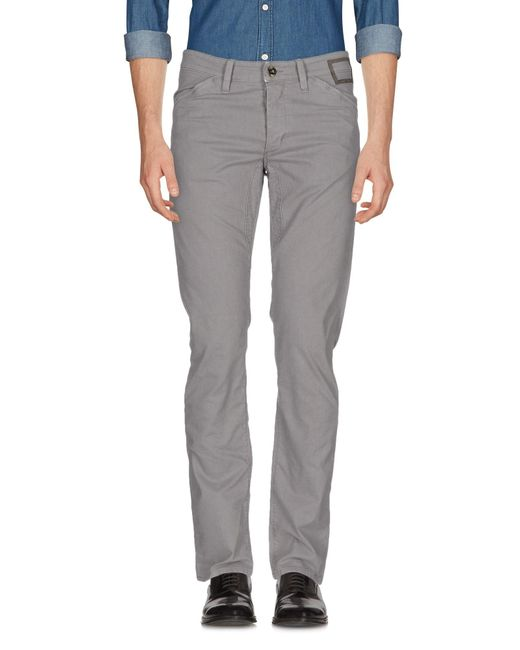Camouflage AR and J. | Gray Casual Trouser for Men | Lyst