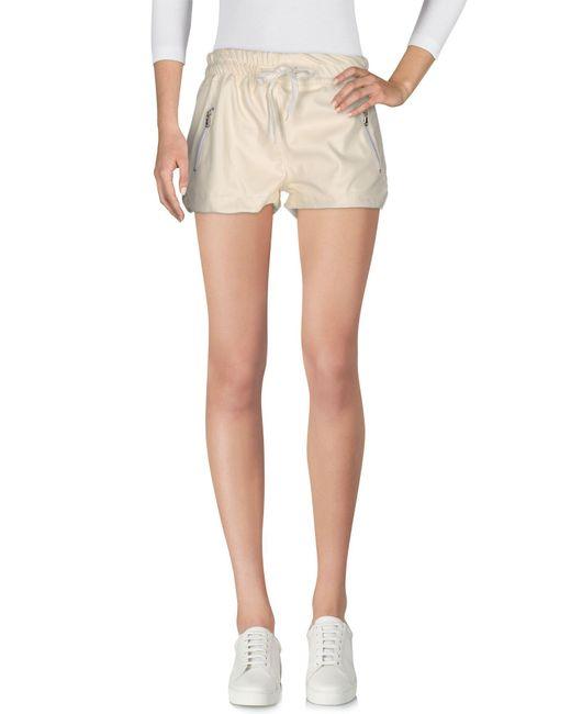 Boutique de la femme shorts in white lyst for 10 moulmein rise la maison