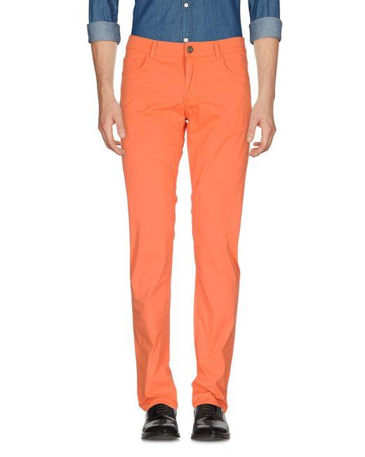 Trussardi | Orange Casual Pants for Men | Lyst