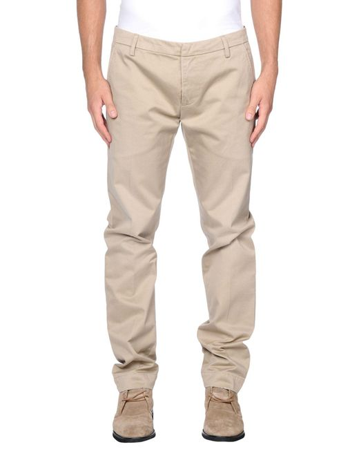 Dondup - Natural Casual Pants for Men - Lyst