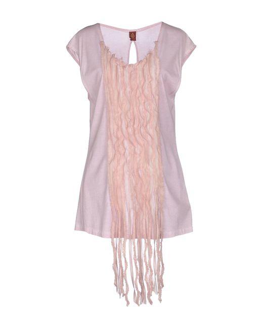 Dondup | Pink T-shirt | Lyst