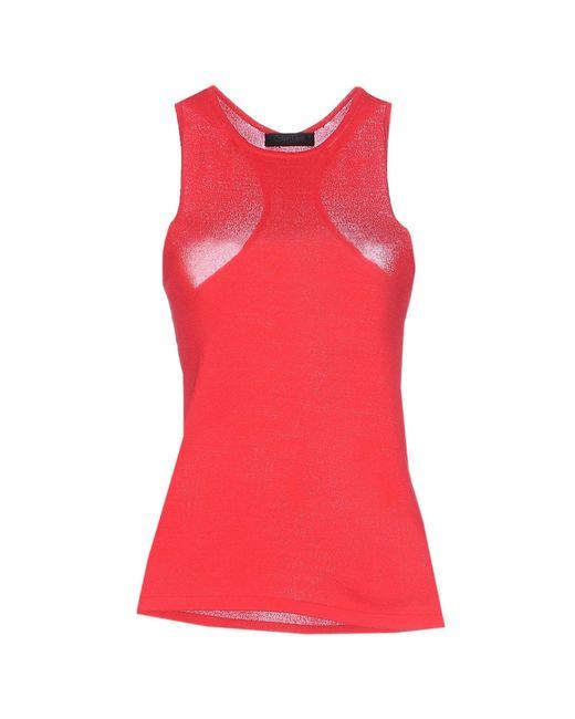 Calvin Klein | Red Vest | Lyst