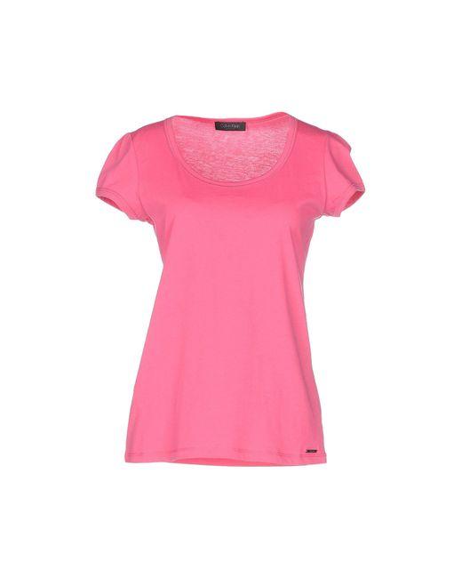 Calvin Klein | Purple T-shirt | Lyst