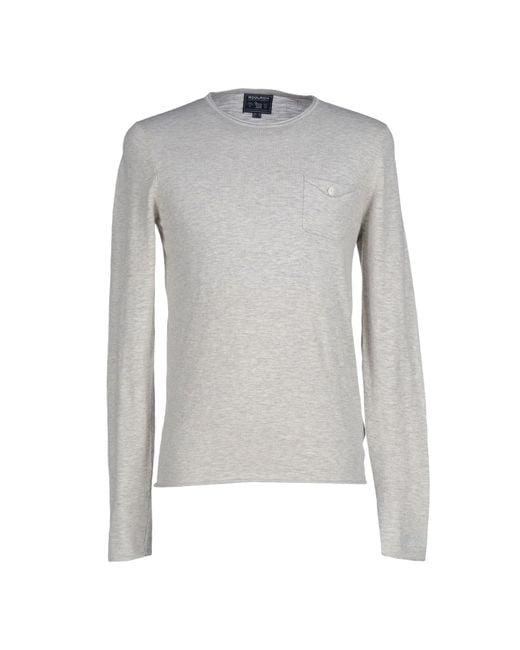Woolrich | Gray Sweater for Men | Lyst