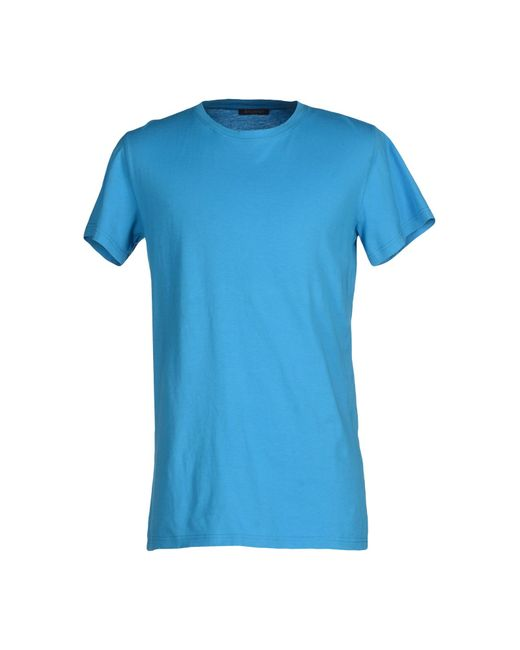 Balmain | Blue T-shirt for Men | Lyst