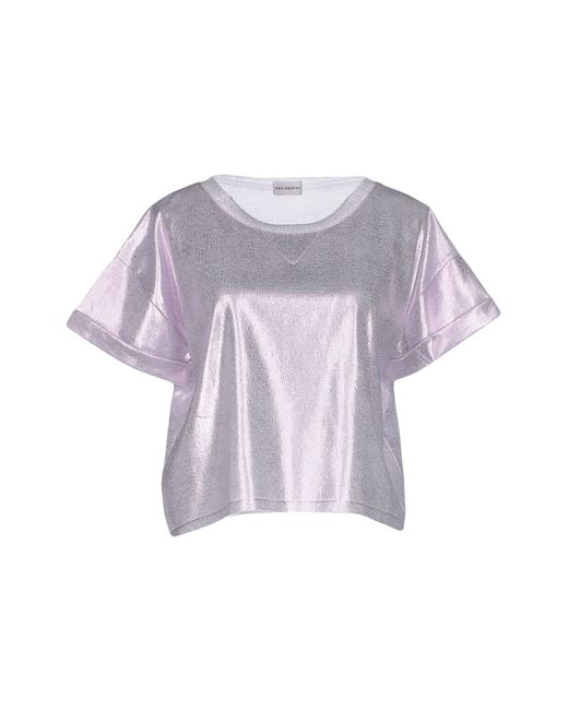 Philosophy di Alberta Ferretti | Purple Jumper | Lyst