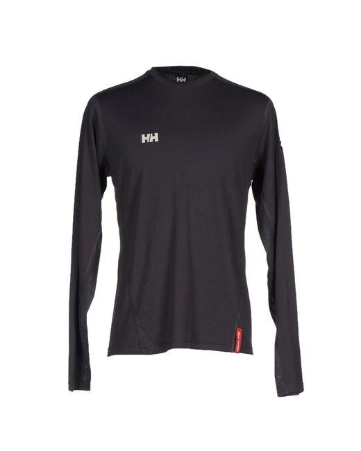 Helly Hansen | Gray T-shirt for Men | Lyst