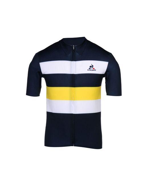 Le Coq Sportif | Blue T-shirt for Men | Lyst