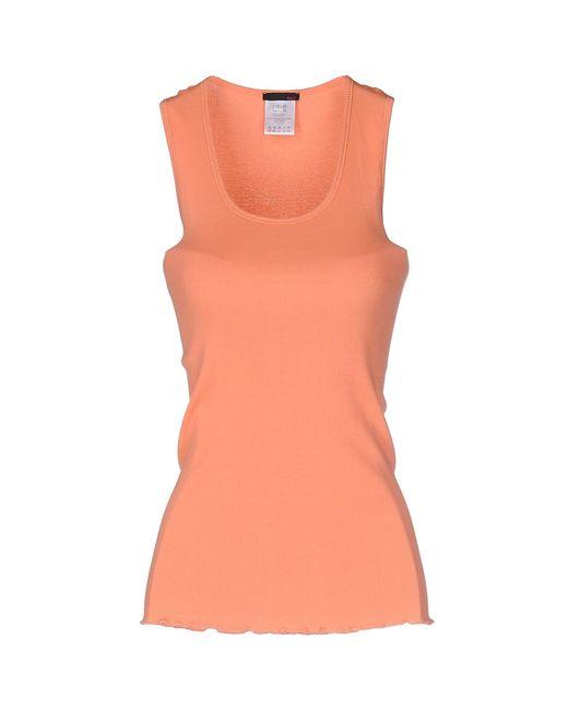 Pinko | Pink Tank Top | Lyst