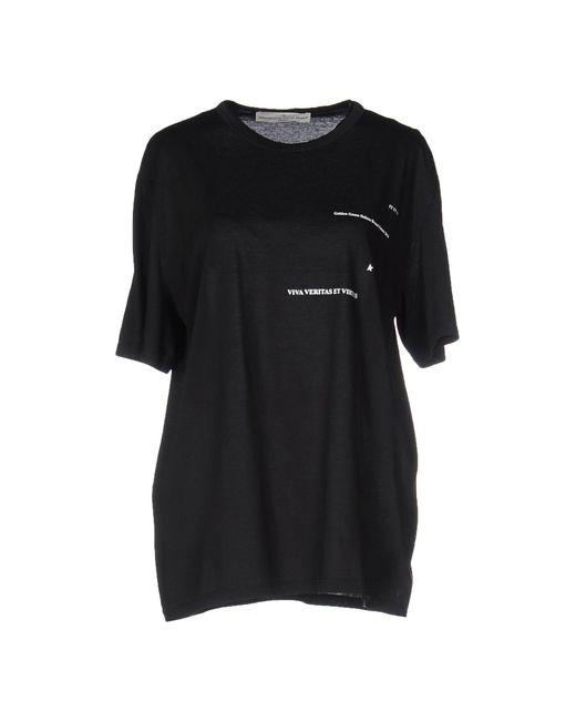 Golden Goose Deluxe Brand | Black T-shirt | Lyst