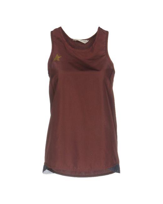 Golden Goose Deluxe Brand   Brown Vest   Lyst