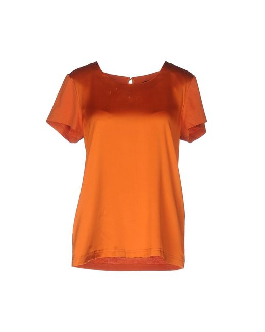 Twin Set | Orange T-shirt | Lyst