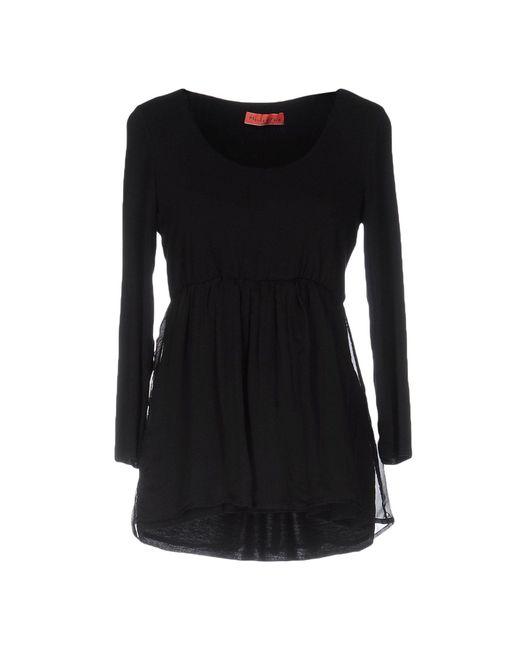 Manila Grace | Black T-shirt | Lyst