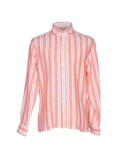 Mirto | Pink Shirt for Men | Lyst