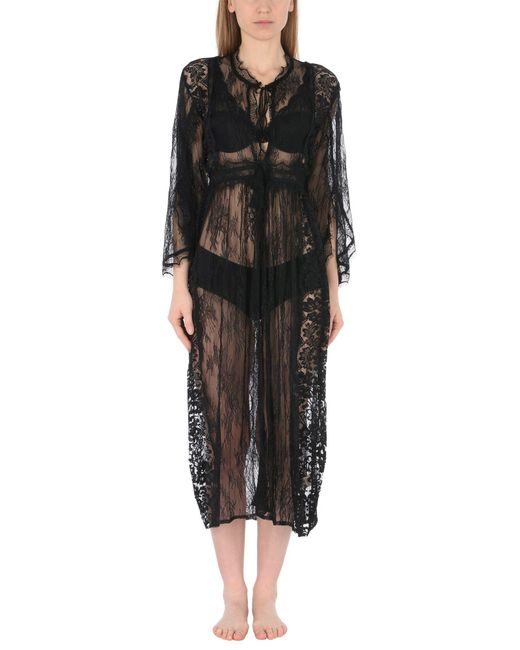 Lyst Free People Dressing Gown In Black