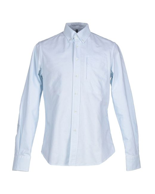 Dondup | Blue Shirt for Men | Lyst