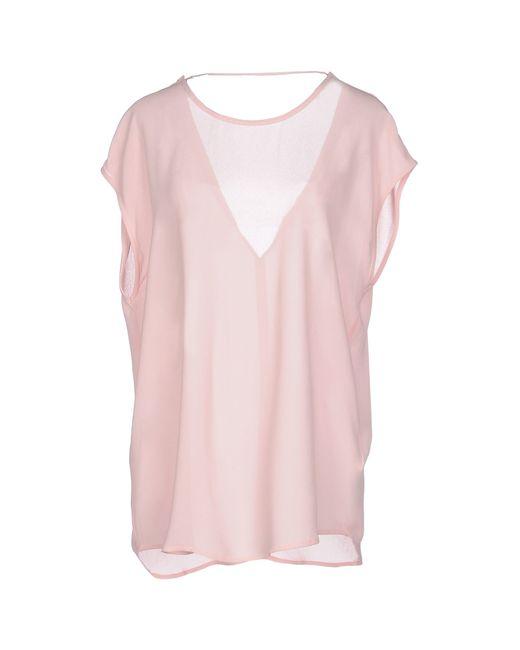 SuperTrash | Pink Blouse | Lyst