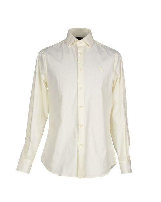 Class Roberto Cavalli   Natural Shirt for Men   Lyst